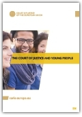 Cover: The Court of Justice and young people