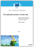 The seductive power of Irish rain - Location determinants of foreign R&D investments in European regions