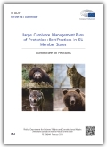 Coverpage of Large carnivore management plans of protection