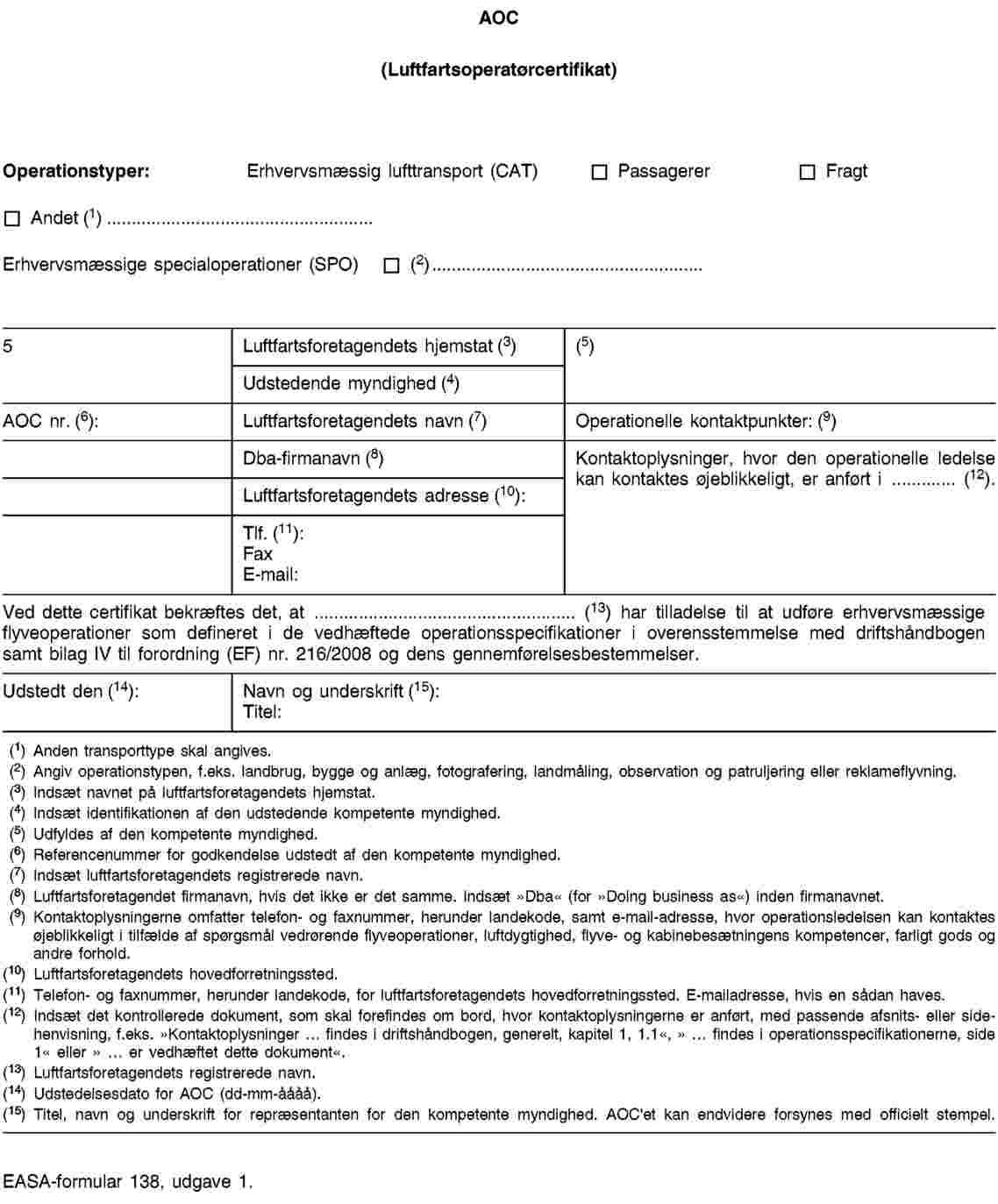 EUR-Lex - 32012R0965 - EN - EUR-Lex