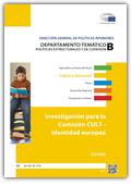 Investigación para la Comisión. CULT Identidad europea