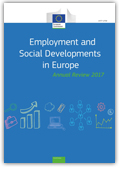 Cover: Employment and social developments in Europe 2017