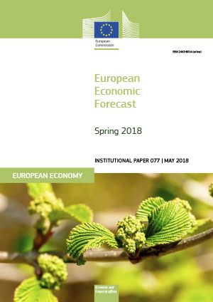 Coverpage of 'European economic forecast'