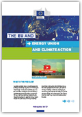 The EU and energy union and climate action coverpage