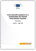Cost-benefit analysis of a sustainable EU health information system