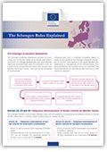 Explicación de las normas de Schengen