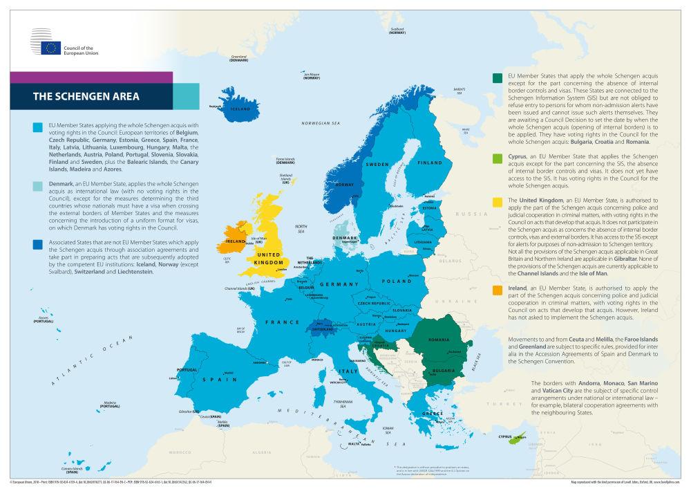 The Schengen Area Eu Law And Publications