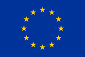 The European Flag — the 12 stars in a circle symbolise the ideals of unity, solidarity and harmony among the peoples of Europe.